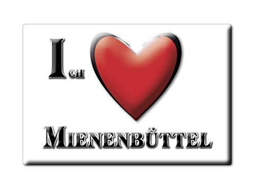 Enjoymagnets MIENENBÜTTEL (NI) Souvenir Deutschland Niedersachsen Fridge Magnet KÜHLSCHRANK Magnet ICH Liebe I Love