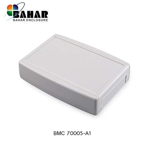 Kunststoffgehäuse Plastik Elektrische Gehäuse Weiß Weiss Bahar Enclosure 152*108*36 mm Tischgehäuse Project Box Projektbox Plastic Enclosure Elegant Design BMC 70005-A1