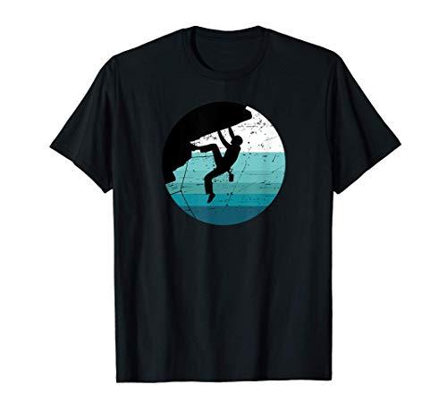 Alpinistes Escalade Grimpeurs Bloc Escalade Libre Bouldering T-Shirt
