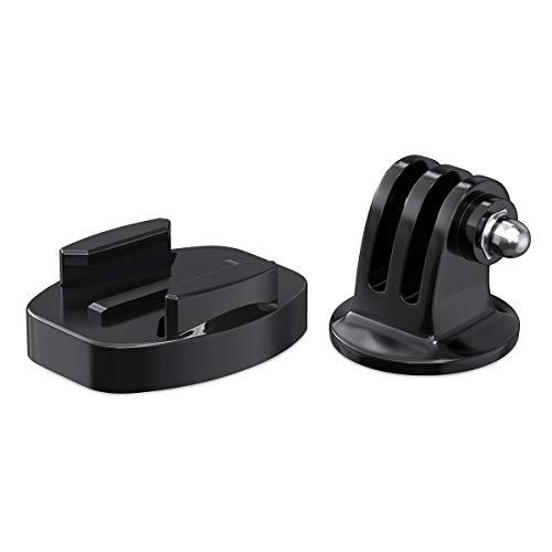 Sametop Stativ Adapter mit Schnellverschluss Stativ Sockel Halterung Kompatibel mit GoPro Hero 9, 8, 7, 6, 5, 4, Session, 3+, 3, 2, 1, Hero (2018), Fusion, Max Kameras