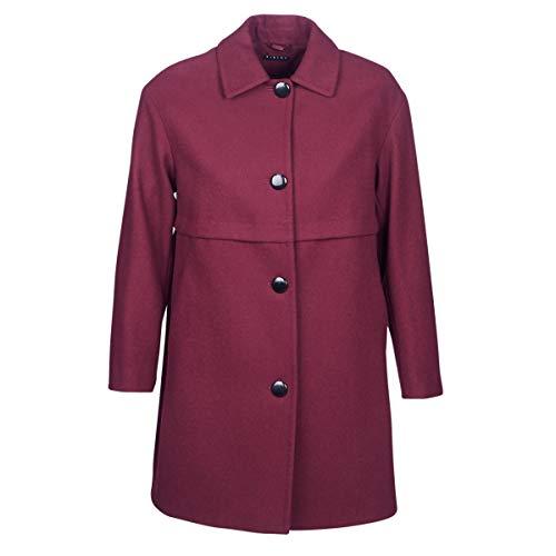 Sisley Fareda Mäntel Damen Bordeaux - DE 40 (IT 46) - Mäntel Outerwear