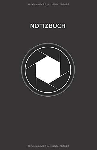 Notizbuch: Liniertes Notizbuch für Fotografen • Softcover • 100 Seiten • mit frei gestaltbarem Inhaltsverzeichnis und Seitenzahlen
