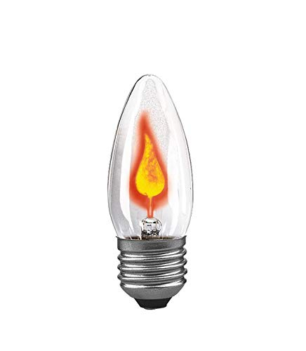 Paulmann 531.00 Flackerkerze 3W E27 Flackerlicht Feuer Flimmerlicht Flamme 53100 Leuchtmittel