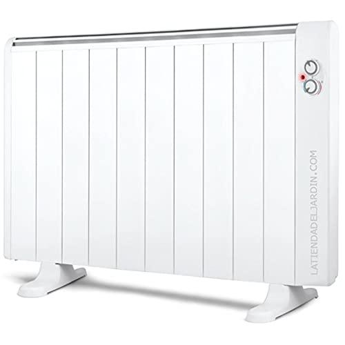 Suinga Emisor térmico 10 elementos sin aceite. 1800W. 2 niveles de potencia. Pies de apoyo incluidos.