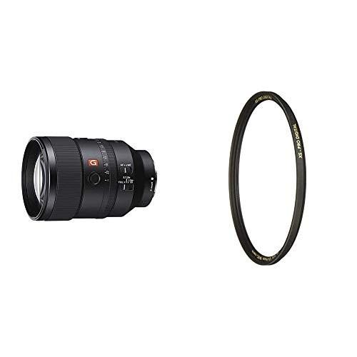 Sony FE 135mm f/1.8 GM | Vollformat, Super-Teleobjektiv, Porträt Objektiv (SEL135F18GM) & B+W UV-Haze- und Schutz-Filter (82mm, MRC Nano, XS-Pro, 16x vergütet, Slim, Premium)