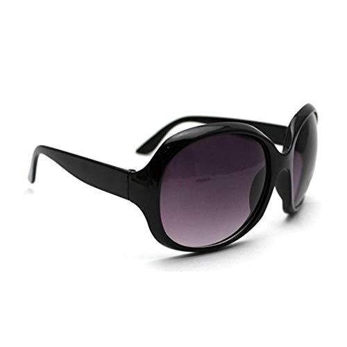 IUwnHceE Diseño clásico de Las Gafas de Sol polarizadas con Borde de Las Gafas de Sol de protección UV de Moda para la Herramienta al Aire Libre Negro Mujeres
