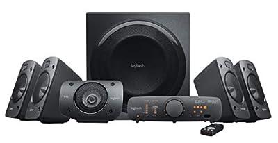 Logitech Z906 5.1 Surround Sound Speaker System - THX, Dolby Digital and DTS Digital Certified - Black