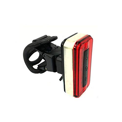 MapleIT Illuminazione per Biciclette, Ricarica Smart Taillights in Sella a Mountain Bike, luci di Ricarica USB Ricaricabili