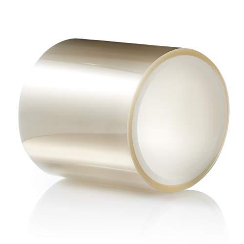 Tierrafilm Rouleau en acétate Transparent–Idéal pour la Cuisson, décoration de gâteaux et Chocolat en acétate Collier–Différentes Tailles (10cm X 5m 125Micron)