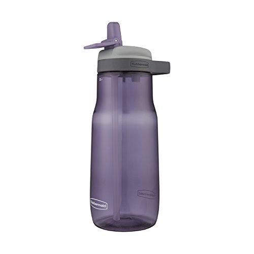 Rubbermaid Leak-Proof Sip Water Bottle, 32 oz, Dusty Lilac