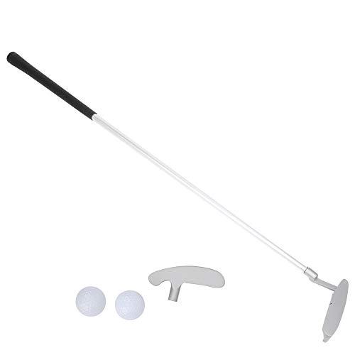 Golf Putter Aluminiumlegierung 3 Abschnitte Montage Zweiwege-Putter mit austauschbarem Stangenkopf für Erwachsene Kinder