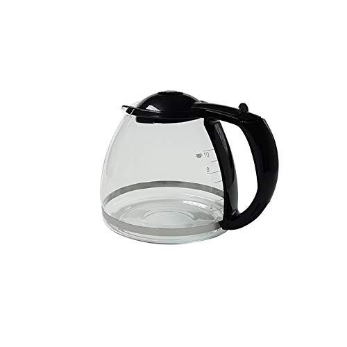 Jarra de cristal negra para cafeteras Bosch Siemens TKA14 TKA28 TC24 TC40 646860
