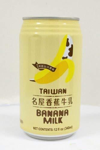 名屋香蕉牛?【24缶セット】 バナナミルク 台湾ドリンク お土産 340mlX24缶