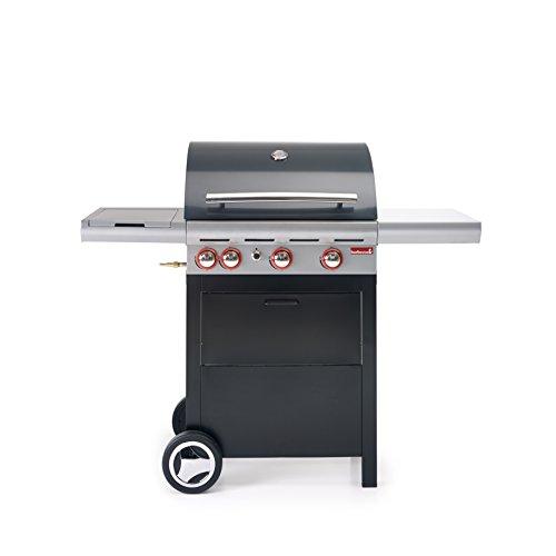 Barbecue gaz Gris 3 brûleurs