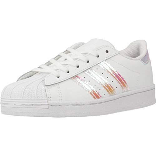 adidas Superstar C, Scarpe da Ginnastica, Ftwr White/Ftwr White/Ftwr White, 29 EU