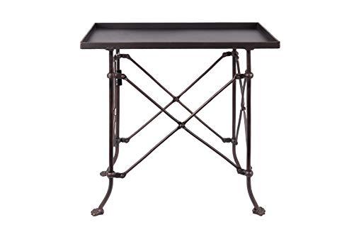 Creative Co-op Bronze Metal Rectangle Table, 20',DA0124