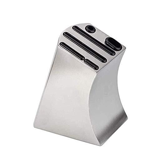 WZHZJ Cuchillo de almacenamiento en bloque cuchillo de acero inoxidable del organizador del sostenedor cuchillería de la cocina de almacenamiento en rack Soporte de cubiertos for sostenedor de herrami
