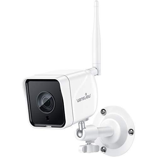 Caméra de Surveillance WiFi Extérieure, Wansview Caméra IP 1080P WiFi sans Fil Caméra Étanche...
