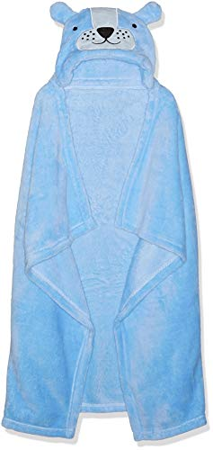 Rene Rofe Baby Newborn Unisex Hooded Baby Blanket, Blue, One Size