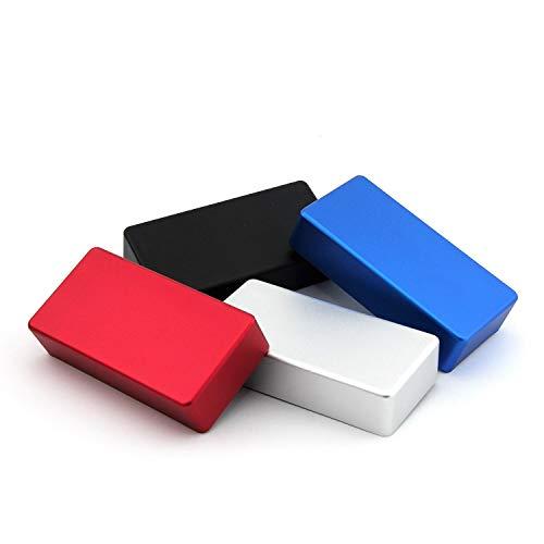 V&M Modding Box 1590B, Alu eloxiert Silber, inkl. Magnete