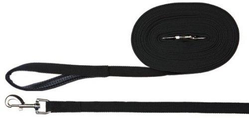 Trixie 19901 Schleppleine, Gurtband, 5 m/20 mm, schwarz