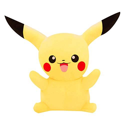 Recordever Grote Pikachu Knuffel Pikachu Doll Creative Doll-smiley Pikachu _85cm (1.5kg)