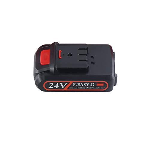 Snowtaros Accesorios para motosierra de mano de 4 pulgadas, cadenas de sierra y batería (batería).
