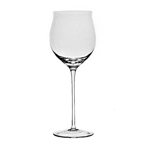 XXL Weinglas Weinkelch Rotweinglas Pokal 600 ml Transparent Hochwertiges Glas H 28,5 cm