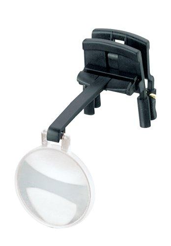 ESCHENBACH メガネ型クリップルーペ ラボクリップ 片眼タイプ 倍率4倍 7倍 レンズ2枚セット 1646-247