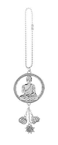 Ganz Buddha Car Charm, zinc