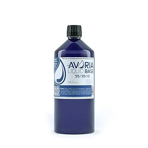 Avoria Deutsche Liquidbasen 55/35/10, 850 Ml, Nikotinfrei