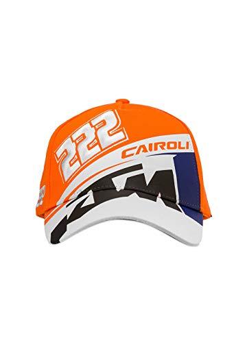 Valentino Rossi VR46 Cairoli-KTM Mütze, Orange, Einheitsgröße