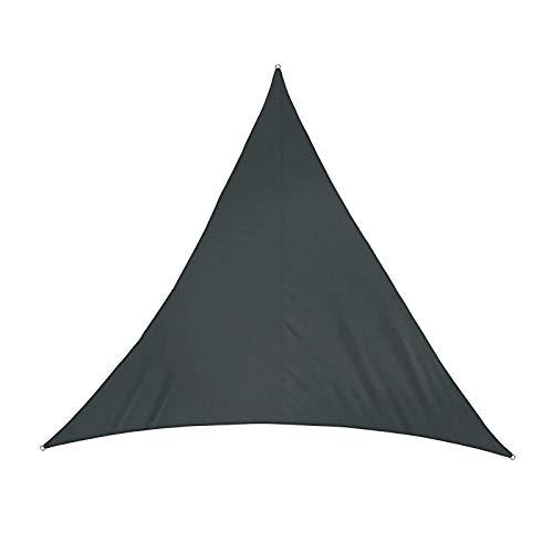 HTLLT Toldo Triangular De Vela Parasol Toldo De Sombra De Secado Rápido Impermeable Toldo De Protección Solar Portátil Anti UV 2x2x2m,Black