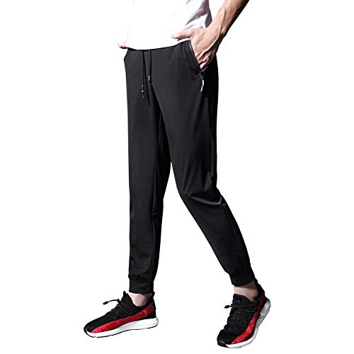 Ancient Star Mens Hiking Joggers Sweatpants Light Breathable Quick Dry Running Sports Pants