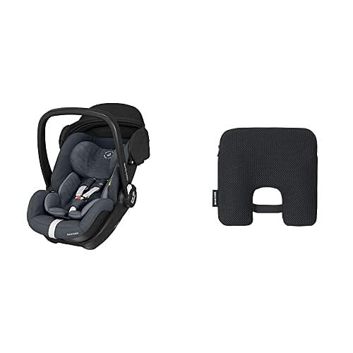 Maxi-Cosi Marble Silla de coche para bebé de grupo 0+, silla de auto reclinable con base isofix incluida,desde nacimiento hasta 13 meses, i-size + Dispositivo antiabandono para silla de coche