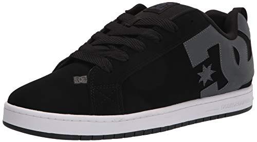 DC Shoes Court Graffik SE - Zapatillas de Skate para Hombre, Color Blanco, Negro y Lima, Color, Talla 39 EU