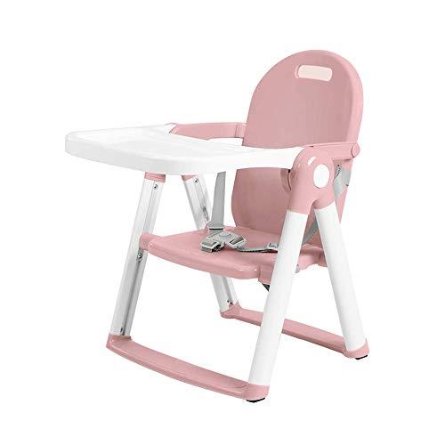 NMDD Trona, Silla Plegable para Comer para bebés, Asiento Infantil Multifuncional, Mesa y Silla