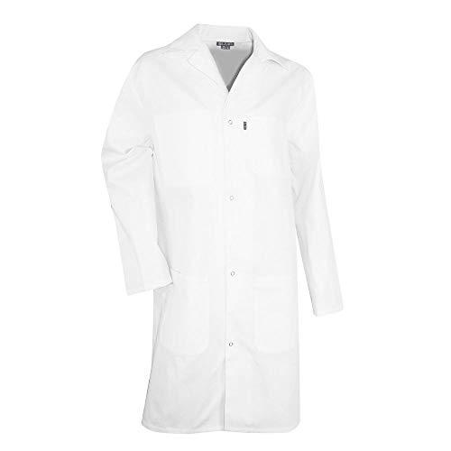 Blouse Blanche de laboratoire 100% coton PALETTE LMA, Blanc, M