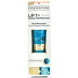 Diadermine - Fluide Miracle nuit Lift+ idéale perfection zonnes fatiguée & stressées - 15ml