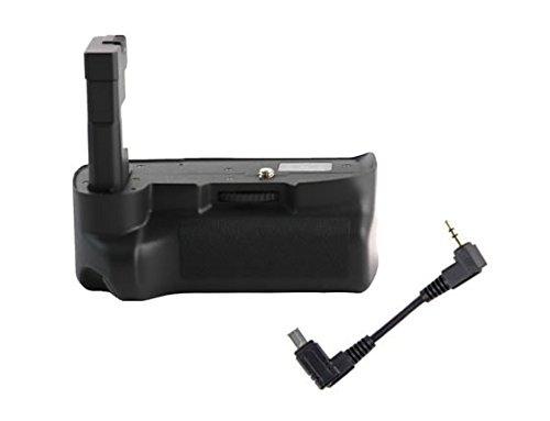 Meike - Impugnatura portabatteria professionale per Nikon D3200 e D3100, per formato verticale, per 2 batterie EN-EL14