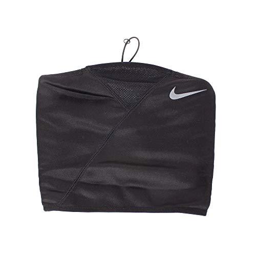 Nike - Sciarpa regolabile Therma Sphere Sciarpa Nike per sciarpa da donna per l'inverno - Nero (Nero / Grigio burattato), FR Produttore: taglia unica