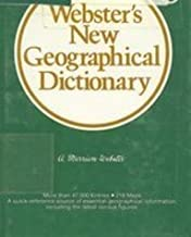Webster's New Geographical Dictionary