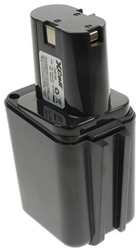 Hückmann XCell 142130 - Batteria di ricambio per Bosch Ni-MH, 9,6 V, 2000 mAh