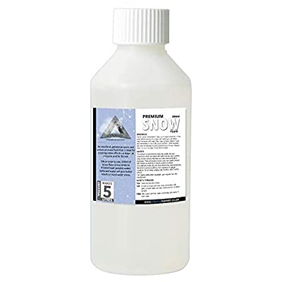 Snow Machine Fluid Concentrated Makes 5 litre Bottle Christmas Party Effects
