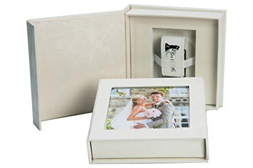 "32 GB USB Chiavetta, Flash Drive ""You & Me"" con USB-Box. Matrimonio Design"