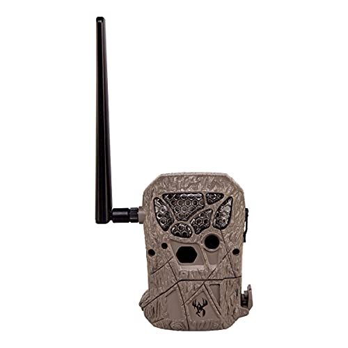 Wildgame Innovations Encounter Cellular Game Camera | Automatically Sends Images Via Cellular Networks | 20 Megapixel 21 LED Illumination, Brown