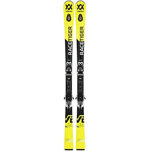 VOELKL RACETIGER SC Yellow 18/19 +VMOTION 10 GW gelb - 165