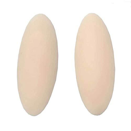 Alicer 1 Paar Selbstklebende Wadenpolster für Frauen, Silikon-Wadenkorrektor-Bein-Onlays-Beinkorrektor, hautfreundlich, Wadengelpolster für dünne, dünne Beine