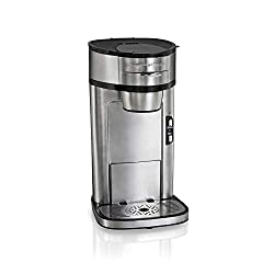 commercial Hamilton Beach Scoop Single Serve Coffee Maker Quick Brew Stainless Steel (49981A) hamilton beach brewers