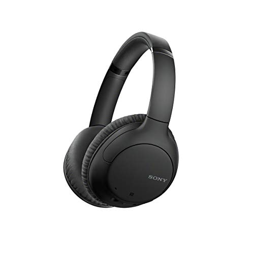 Sony WHCH710NB - Auriculares inalámbricos Noise Cancelling (Batería 35 h, Carga rápida, Llamadas Manos Libres, diseño...